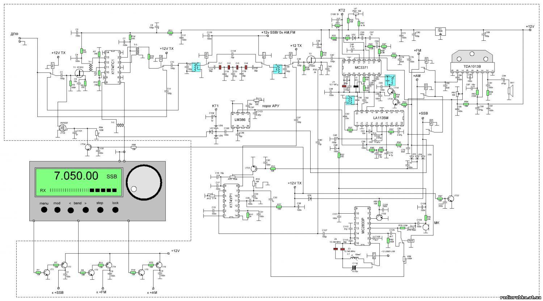 Трансивер клопик схемы описание